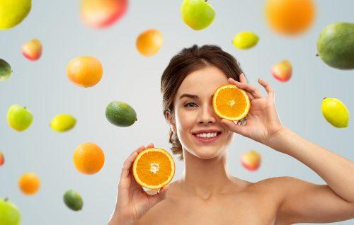 Bellezza: trattamenti antiossidanti alle vitamine